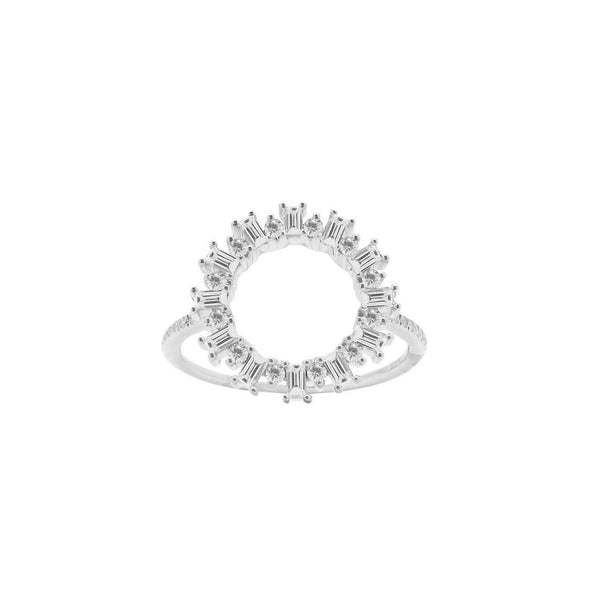 14K  GOLD DIAMOND CHLOE RING (ALL COLORS)