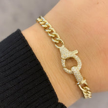 14K GOLD DIAMOND ALIZA BRACELET