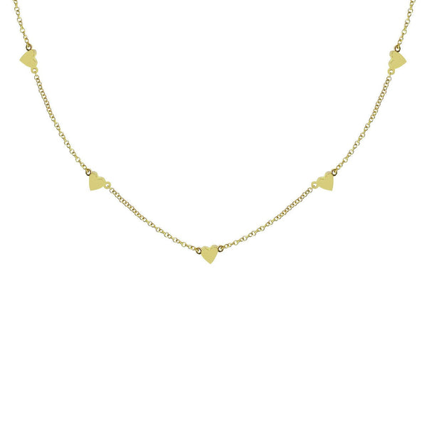 14K GOLD YAKIRA NECKLACE (ALL COLORS)