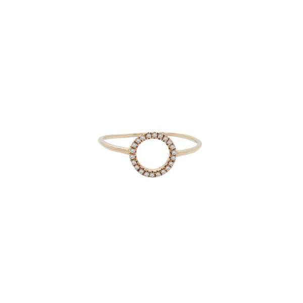 14K GOLD DIAMOND ANNABELLE RING