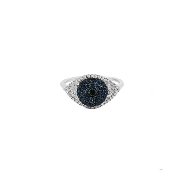 14K GOLD DIAMOND RENEE EYE RING
