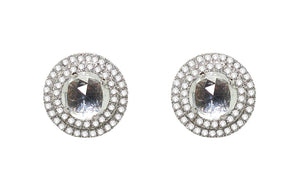 14K DIAMOND PENELOPE STUDS (ALL COLORS)