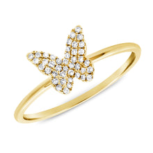 14K GOLD DIAMOND JULIA BUTTERFLY RING