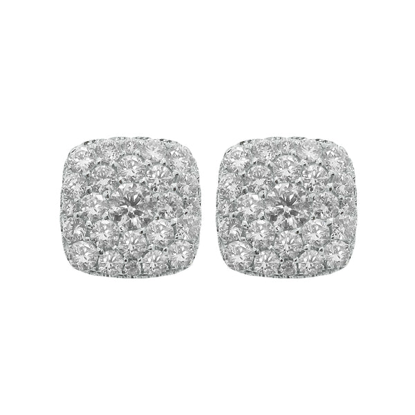 18K GOLD DIAMOND AMALIA STUDS