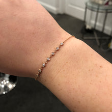 14K GOLD DIAMOND RITA BRACELET