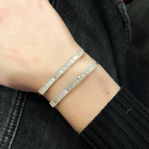 14K GOLD DIAMOND CLARA BANGLE