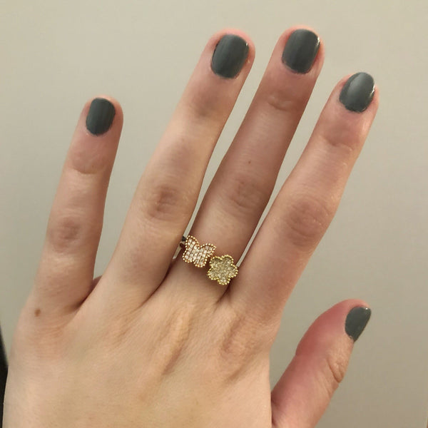 14K GOLD DIAMOND KIARA RING