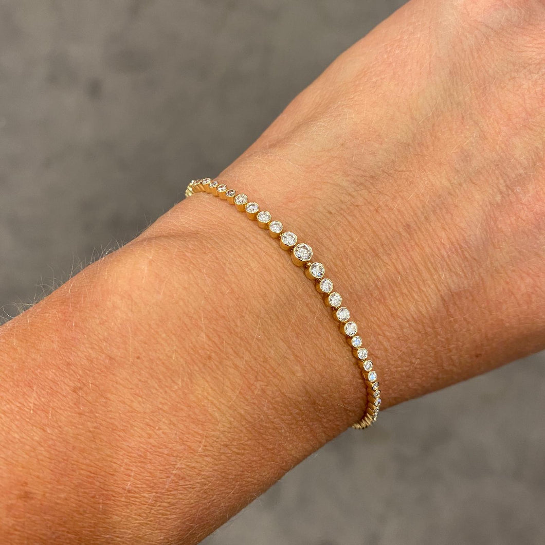 14K GOLD DIAMOND GIANNA BRACELET