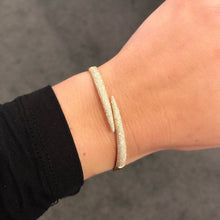 14K GOLD DIAMOND OLIVIA CLAW BANGLE