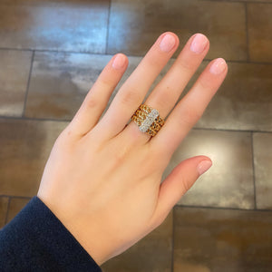 14K GOLD DIAMOND JESSICA RING