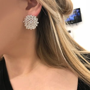 18K GOLD DIAMOND SOPHIA EARRINGS
