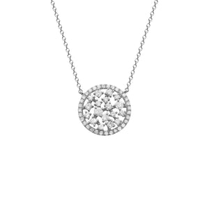 14K GOLD DIAMOND SMALL ELANA NECKLACE