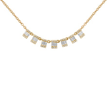 14K GOLD DIAMOND LANA BAGUETTE NECKLACE