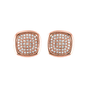 14K GOLD DIAMOND CASSIE STUDS