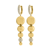 14K GOLD DIAMOND EMILY EARRINGS