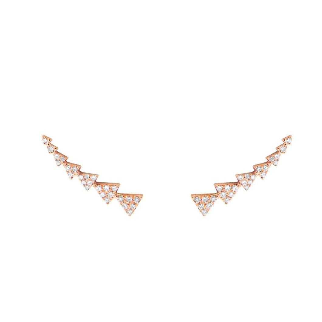 14K GOLD DIAMOND CHLOE CRAWLERS