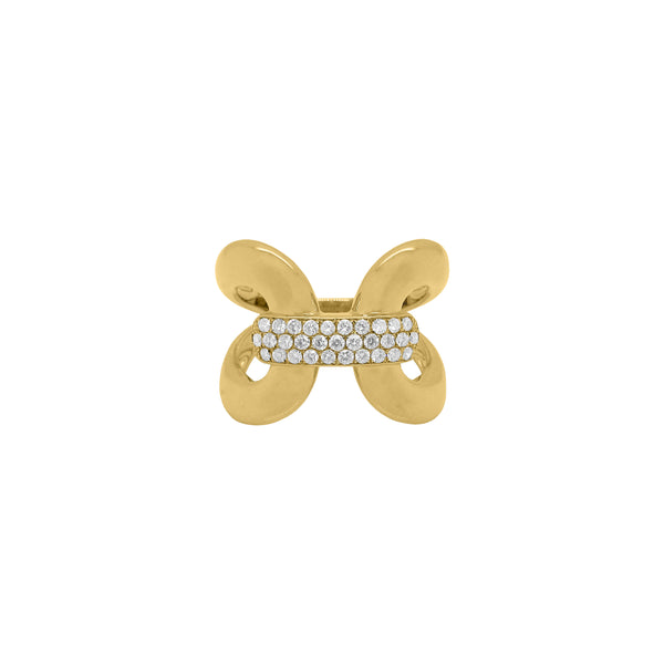 14K GOLD DIAMOND CLAUDIA RING