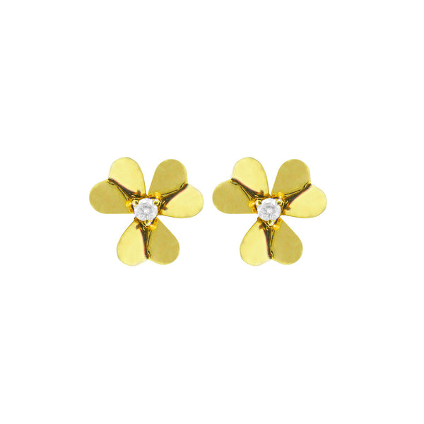 14K GOLD DIAMOND MINI ISABELLA EARRINGS