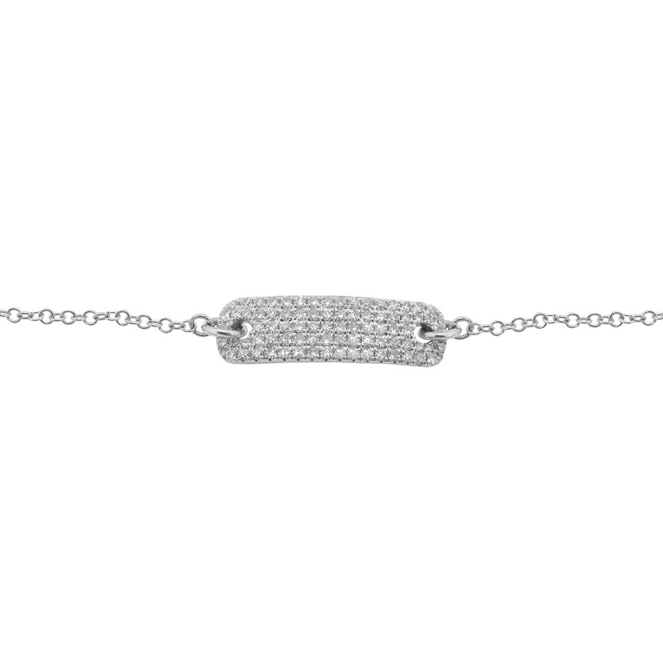 14K GOLD DIAMOND KENZIE BRACELET