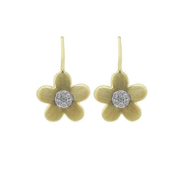 14K GOLD DIAMOND LAYLA EARRINGS