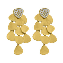 14K GOLD DIAMOND AMY EARRINGS