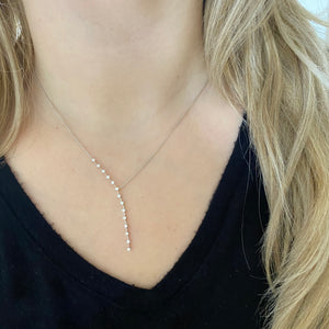14K GOLD DIAMOND SIERRA NECKLACE