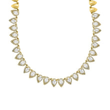 14K GOLD DIAMOND NAVAH NECKLACE
