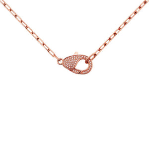 14K GOLD DIAMOND HARPER NECKLACE