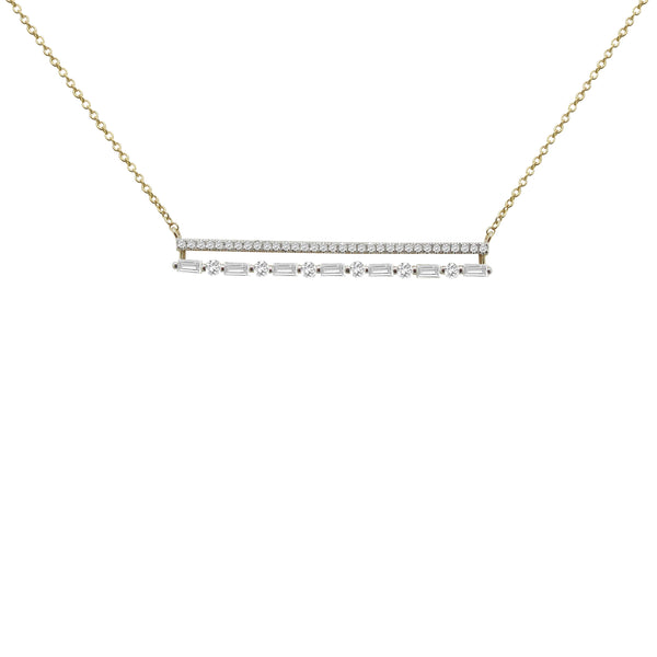 14K GOLD DIAMOND DANIELLA NECKLACE