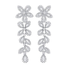 14K GOLD DIAMOND DANA EARRINGS