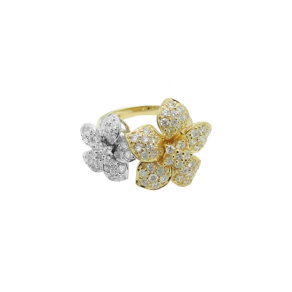 14K GOLD DIAMOND EMMIE RING