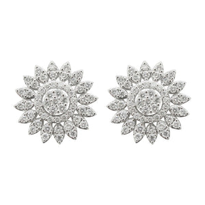 18K GOLD DIAMOND CHARLOTTE EARRINGS