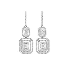14K GOLD DIAMOND DEENA BAGUETTE EARRINGS