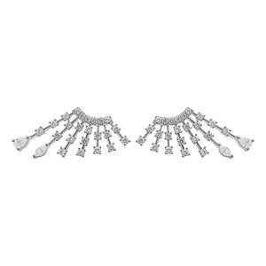 14K GOLD DIAMOND PAMELA EARRINGS