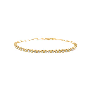 14K GOLD DIAMOND ADDISON BRACELET