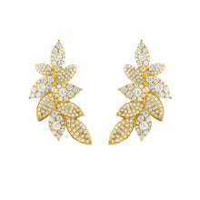 14K GOLD DIAMOND CLIMBER EARRINGS