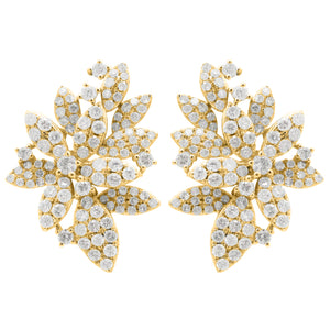 14K GOLD DIAMOND SELINA EARRINGS