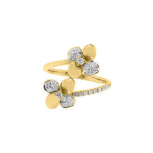 14K GOLD DIAMOND CARRIE RING