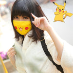 Pokemon Pikachu Face Cover