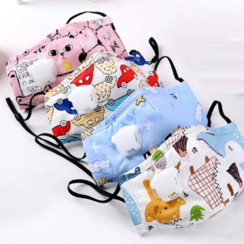 Protective Cute Kid Face Cover