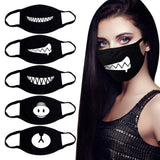 Funny Black Cotton Mask