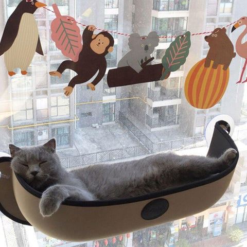 Window Pod Cat Hammock