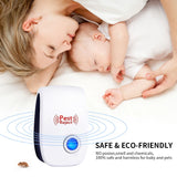 Ultrasonic Electronic Pest Repeller Mosquito Mouse Rat Multi-function Rodent Insect Repellent Mini Insect Killer Rode US EU Plug - mintstuffs.com