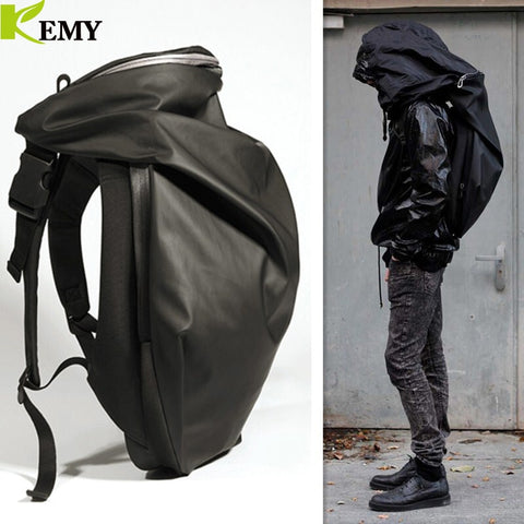 KEMY - Hoodie Laptop Backpacks - mintstuffs.com