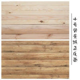 Double Sides Paper Board with Wood Marble Cement texture for Photography Backdrop Prop - mintstuffs.com