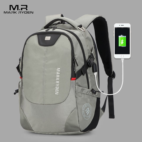 Mark Ryden - Multifunction 15inch Laptop Backpack with USB Charging - mintstuffs.com