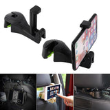 2in1 Multi-functional Car Hook Headrest Phone Holder - mintstuffs.com