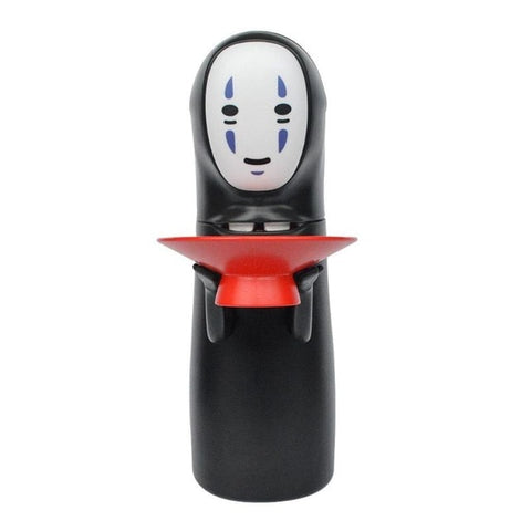 No-Face Money Box Spirited Away Kaonashi No-face Piggy Bank Toy Automatic Eaten Coin Bank Fun Christmas Gift Cartoon Piggy Bank