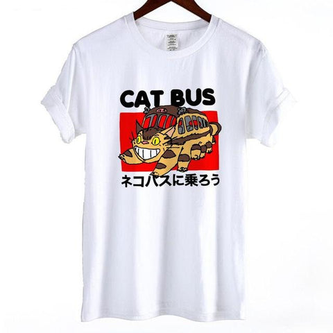 Ghibli Cat Bus T-shirt