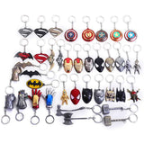 Metal Marvel DC Keyring